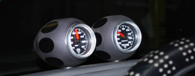 Gauge Pod - Black Anodized