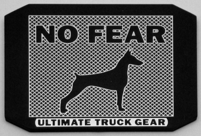 No Fear (Doberman)