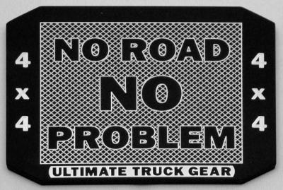 No Road No Problem